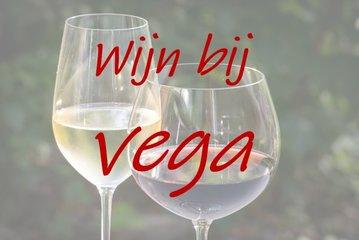 Wijn bij vega