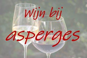 Wijn bij asperges
