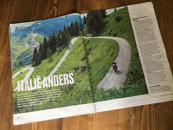 Brabants Dagblad artikel Friuli Venezia Giulia