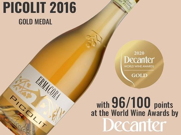 Decanter World Wine Awards - Goud voor onze Picolit