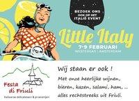 Little Italy 2020 | Westergas Amsterdam | 7, 8 en 9 Februari