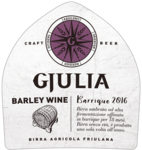 Birra Gjulia Barley Wine - Gerstewijn - Bier