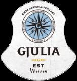 Birra Gjulia etiket wit bier