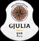Etiket Birra Gjulia Sud Nera - Donker Italiaans bier