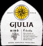 etiket Birra Gjulia Ribo - Italliaans speciaal bier