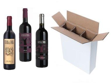 Proefdoos Italiaanse luxe rode wijnen Typisch Friuli