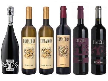 Wijnbox De Luxe Ermacora Italia