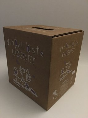 Wijntap - Bag in Box - Italiaanse rode wijn Cabernet