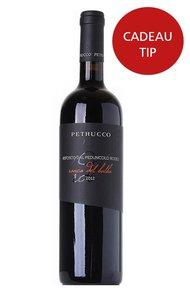 exclusieve italiaanse rode wijn Refosco op hout gerijpt