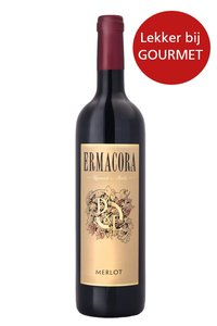 Italiaanse rode wijn Merlot lekker bij gourmet