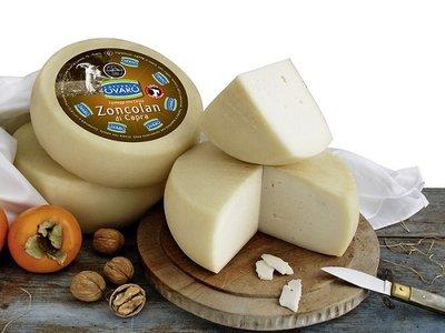 Italiaanse geitenkaas - Zoncolan di Capra - kaas uit Noord-Italië