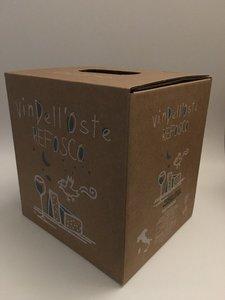 wijntap - bag in box - italiaanse rode wijn - refosco 5 lt