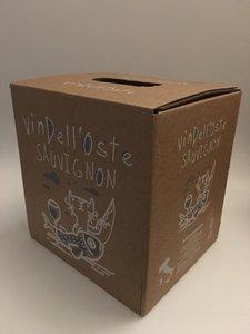 wijntap - bag in box - italiaanse witte wijn - sauvignon 5 lt