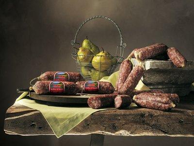 Italiaanse salami uit Sauris