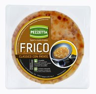 Typisch Italiaans gerecht - Frico - met aardappels
